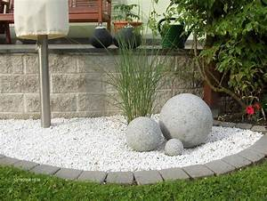 Kieselsteine Für Wege : vorgarten gestalten mit kies und gr sern kiesbeet ~ Articles-book.com Haus und Dekorationen