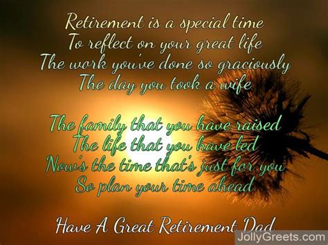retirement poems  dad happy retirement poems  father
