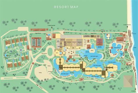 resort map   laguna resort spa nusa dua bali