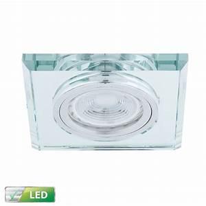 Led Einbaustrahler Glas : led einbaustrahler mit glas eckig led 1x 5w gu10 wohnlicht ~ Eleganceandgraceweddings.com Haus und Dekorationen