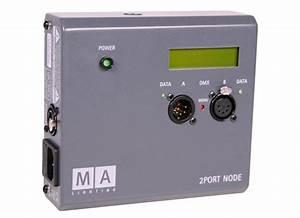 Grandma 2port Node : ma lighting 2port node onpc pro 1024 dmx in out bei huss licht ton ~ Frokenaadalensverden.com Haus und Dekorationen