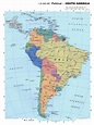 Maps of South America and South American countries ...