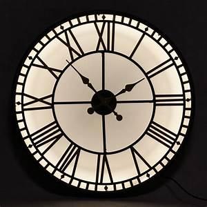 Illumination Light Up Clock - Large