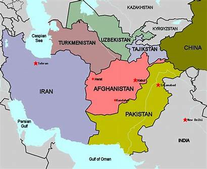 Afghanistan Countries Pakistan Afghan Map Taliban Redux