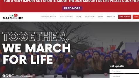 Annual March For Life rally goes digital | WDVM25 & DCW50 ...
