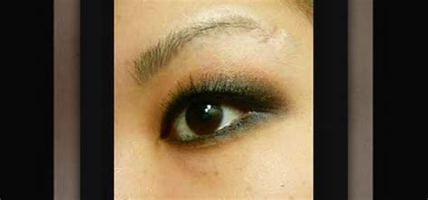 apply  quick smoky eye makeup  asian monolid