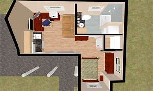 Small Guest House Floor Plans Garage Guest House, small ...