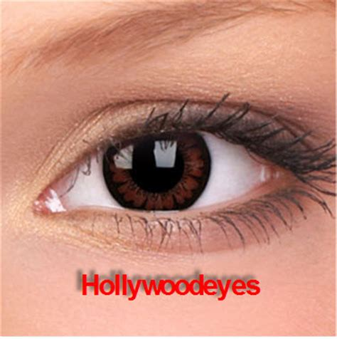 Theatrical Contacts No Prescription by Hollywoodeyescolorcontacts Pretty Hazel Color Contact