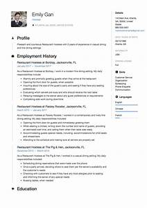 12 free restaurant hostess resume samples different With hostess resume examples