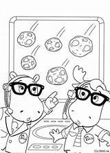 Coloring Backyardigans Meteorite Pages 794px 15kb Fun sketch template