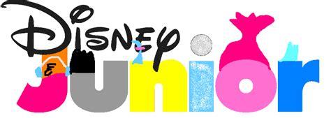 Disney Junior Logo Trolls Style