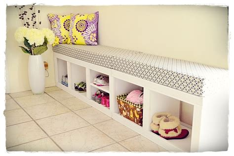ana white shoes cubbybench modified  rolling cubby
