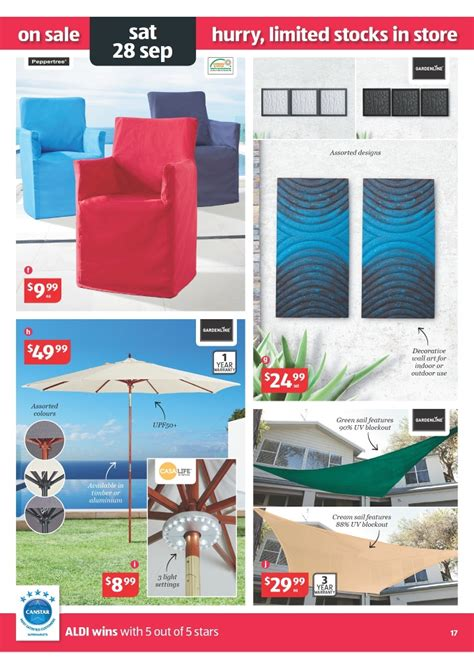gardenline outdoor furniture cover aldi catalogue special buys week 39 2013 page 17