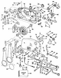 Johnson Remote Control Parts For 1990 70hp J70tlesb