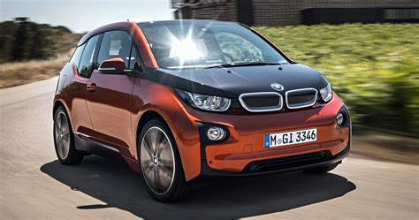 2014 Bmw I3 Side View In Motion 209080 Photo 10
