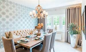 making the seating on one side of your dining room table a With dining room table with sofa seating