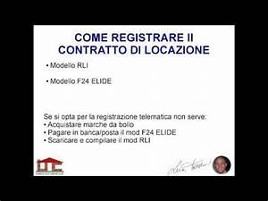 [VIDEO] Come registrare il contratto di locazione