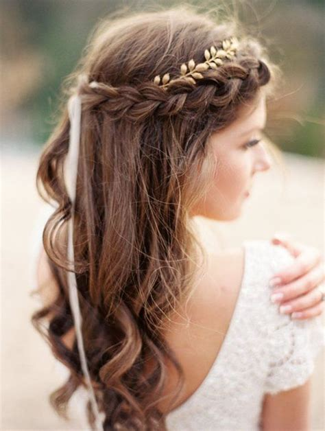 braided crowns hairstyles   summer bride arabia