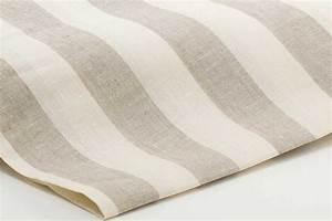 Leinenstoffe Für Gardinen : leinenstoff aus 100 leinen 160 g qm 160cm streifen 4cm leinenbettw sche linumo linumo ~ Whattoseeinmadrid.com Haus und Dekorationen