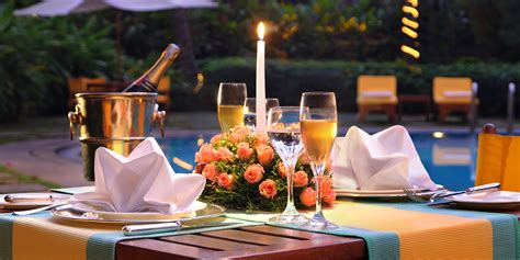 Poolside Dinner by Surprises For Loved One On Valentines Day Oyehappy