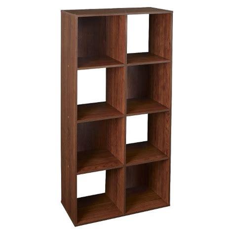 target shelf organizer closetmaid cubeicals 8 cube organizer shelf cherry