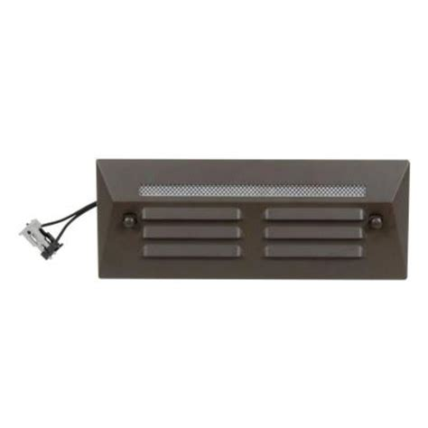 Home Depot Low Voltage Deck Lighting by Proscapes Low Voltage Led Aged Brass 0 3 Watt Industrial