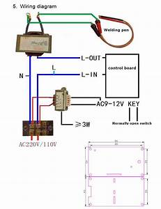 Welding Transformer Circuit Diagram