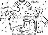 Wet Season Clipart Doodle Vector Drawings Drawing Clip Clipground Related Eps Royalty sketch template