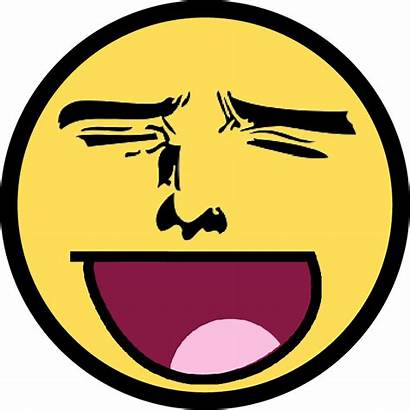 Awesome Face Anime Smiley Transparent Clipart Lmao