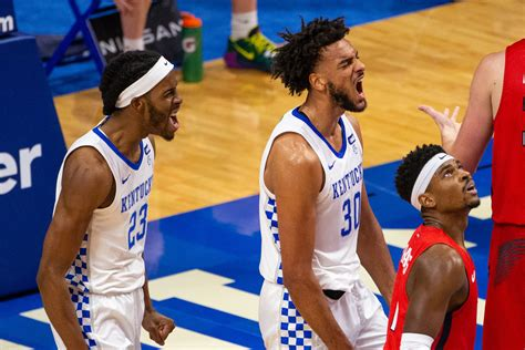 NCAA Men's Basketball: Kentucky Wildcats vs Kansas ...