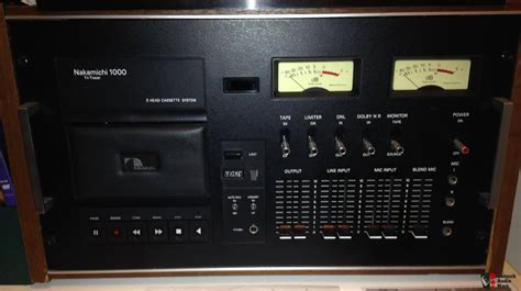 Nakamichi 1000 Cassette Deck by Nakamichi 1000 Deck Photo 1126084 Canuck Audio Mart
