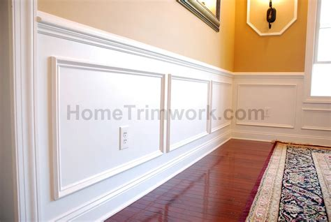 Wainscoting Frames For Wall by Wall Panel Frame Molding For The Home Home Home Decor
