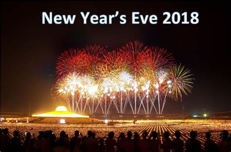 New Year's Eve 2018 Time And Date  Worldwide Update