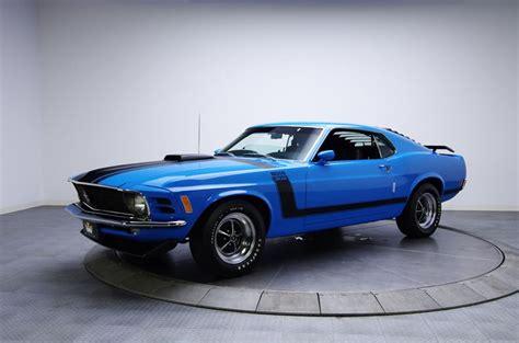 1970 Grabber Blue Ford Mustang Boss 302 V8