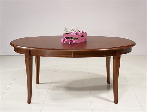 table ovale avec rallonge salle a manger table ovale de salle 224 manger estelle en merisier massif de style louis philippe 5 allonges de