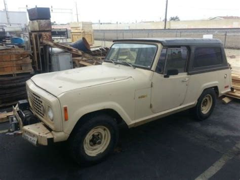 1973 jeep commando buy used 1973 jeepster commando 4wd in santa ana
