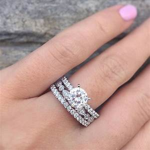 solitaire vs halo engagement rings raymond lee jewelers With is an engagement ring the same as a wedding ring