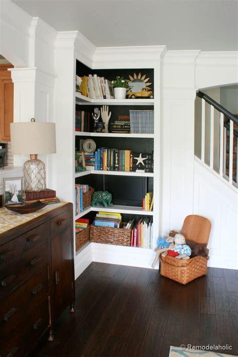 remodelaholic playroom makeover  built  cabinets