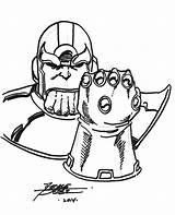 Coloring Gauntlet Thanos Infinity Colorear Disegni Dibujos Marvel Avengers Printable Colorare War Comic Druku Kolorowanki Ausmalbilder Unique Kostenlos Col Designlooter sketch template