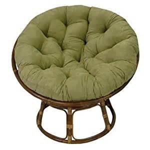 amazon com rattan papasan chair with cushion