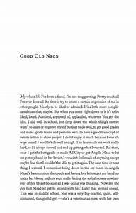 Good Old Neon PDF Stephen Miller