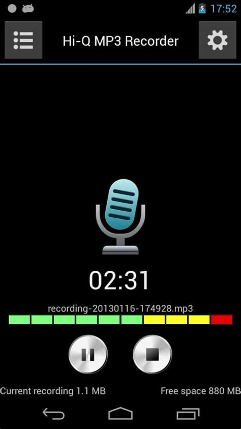 Recording internal audio on an android smartphone used to be surprisingly difficult without rooting or buying a android 7 through 9 forbid screen recorders from accessing internal audio, so you'll be stuck with silent while you're in settings, you'll also notice that you have a lot of options to play with. 5 best audio recording apps for Android, sound recording apps