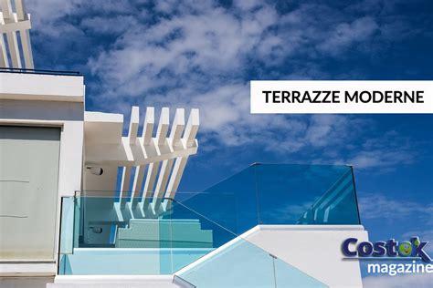 terrazzo o terrazza come chiudere un terrazzo moderno costok