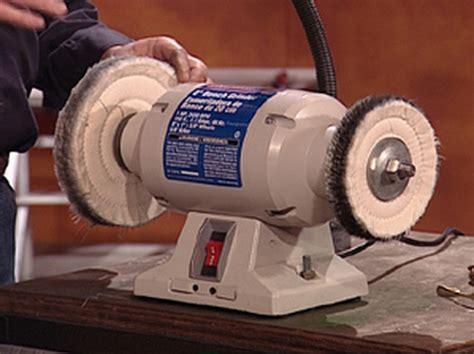 Polishing Wheel For Bench Grinder by Diy Bench Buffer Must See Bikal