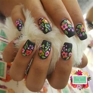 mexican folk nails quinceanera nails mexican nails