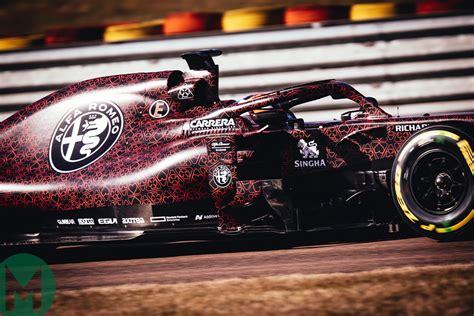 Alfa Romeo's 2019 F1 Testing Livery