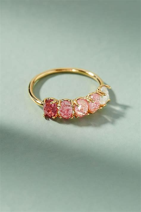 slide view 1 ombre birthstone ring clothing jewelry