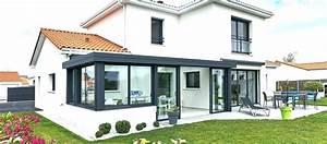 Extension Ossature Bois Prix Au M2 : extension maison veranda ~ Melissatoandfro.com Idées de Décoration