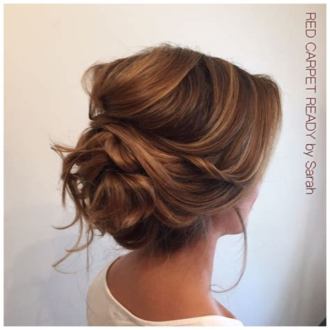 Low Updo Hairstyles by Soft Low Voluminous Updo Hair By Me Wedding Hair Styles