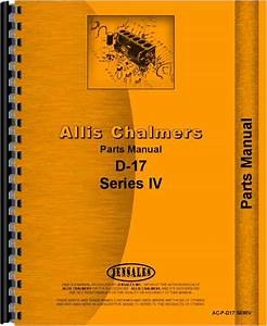 Allis Chalmers D17 Tractor Parts Manual